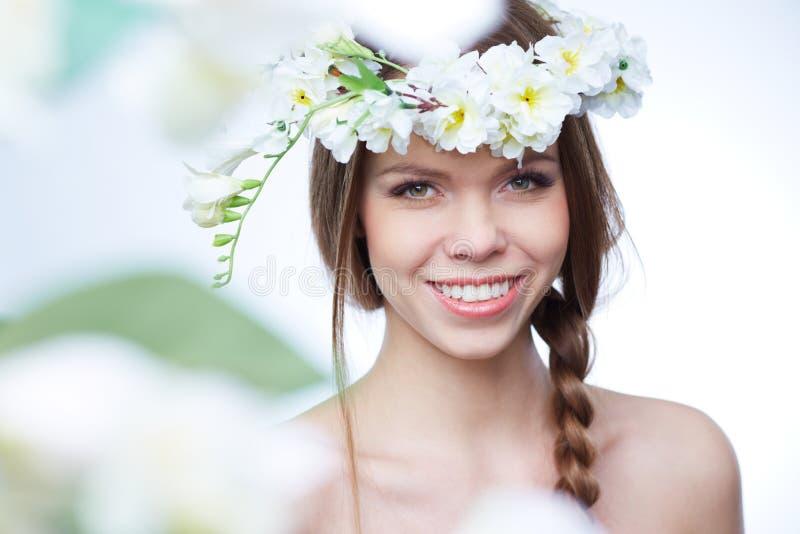 De lenteportret royalty-vrije stock afbeeldingen