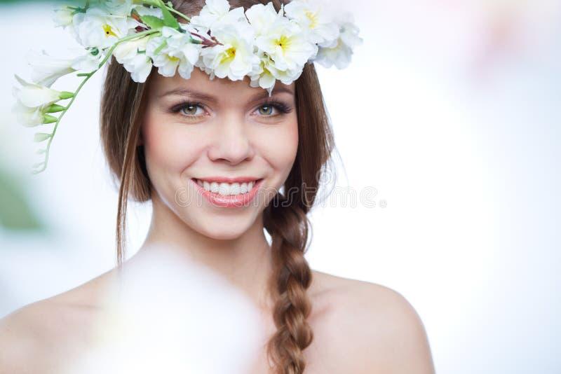 De lenteportret royalty-vrije stock afbeelding