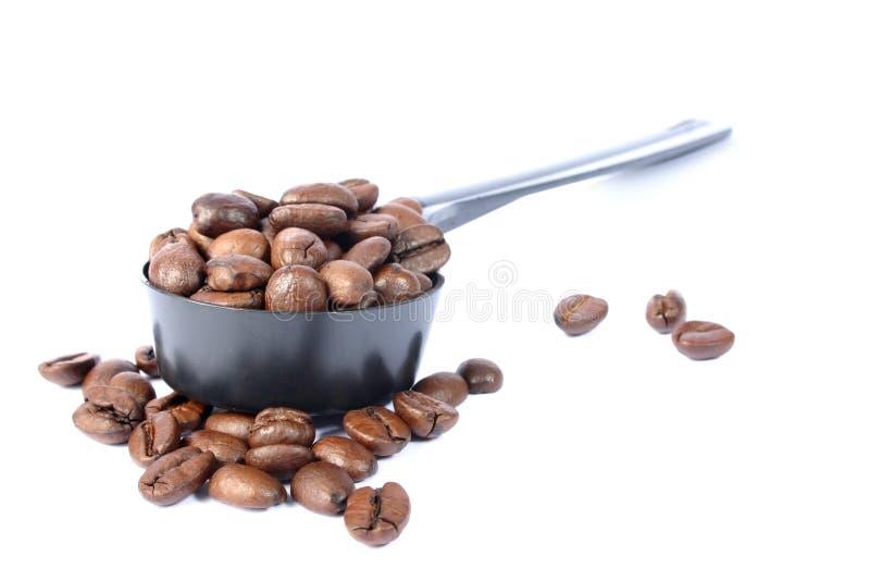 Download De Lepel van de koffie stock afbeelding. Afbeelding bestaande uit latte - 31735