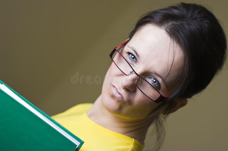 De leraar van Mevr. stock afbeeldingen