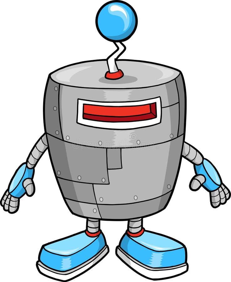 De leuke Vector van de Robot royalty-vrije illustratie