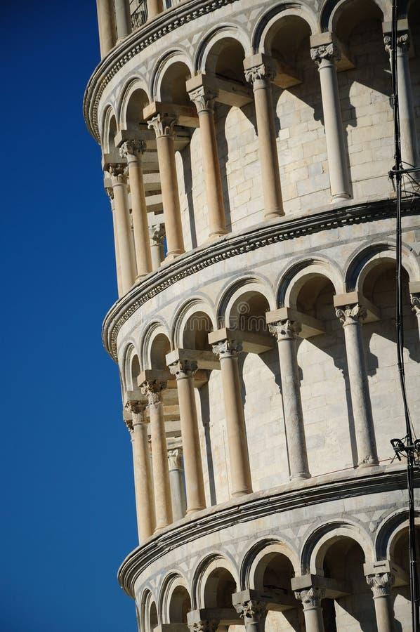 De leunende toren (Pisa) stock fotografie
