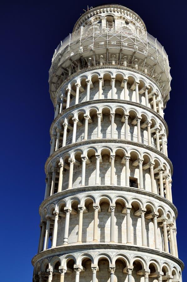 De leunende toren (Pisa) stock afbeeldingen