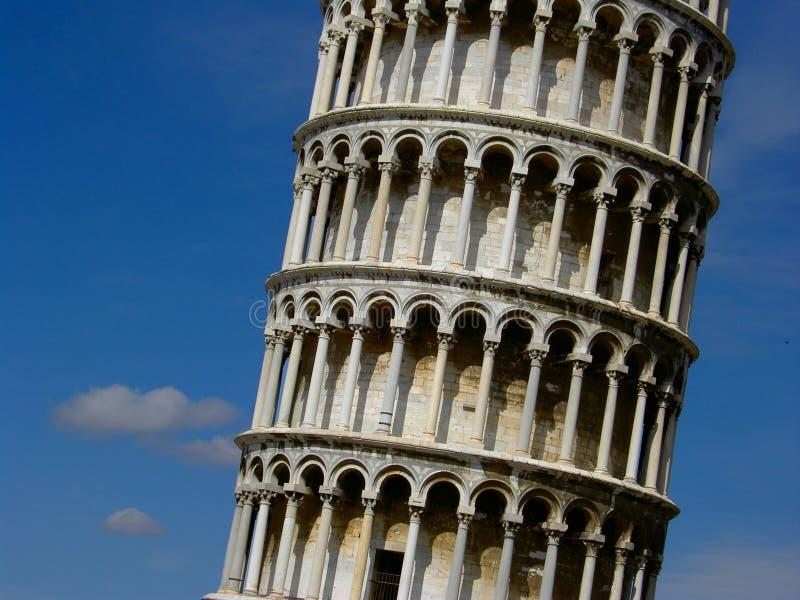 De leunende toren van Pisa stock afbeelding