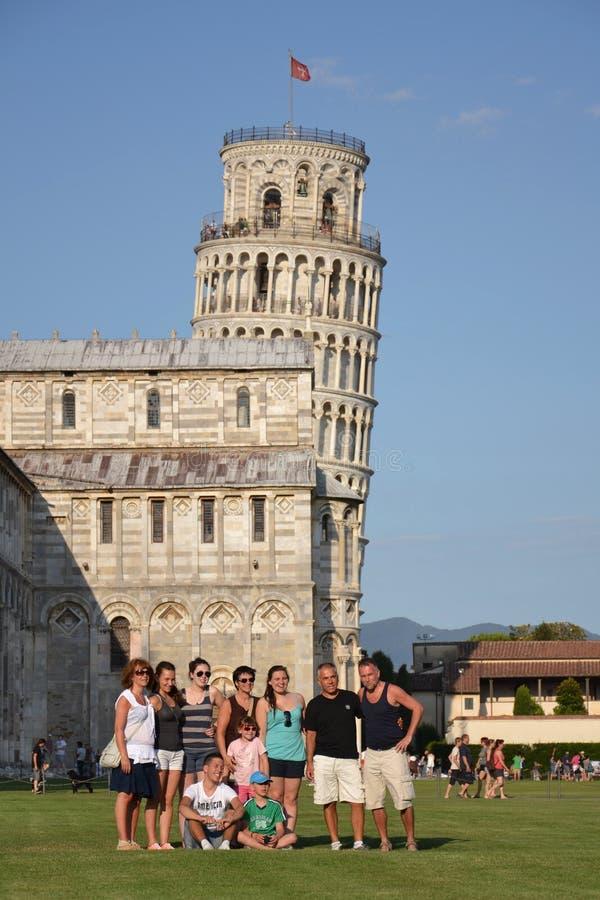 De leunende toren van Pisa royalty-vrije stock fotografie