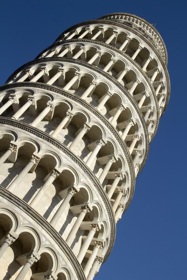 De leunende toren van Pisa stock foto's