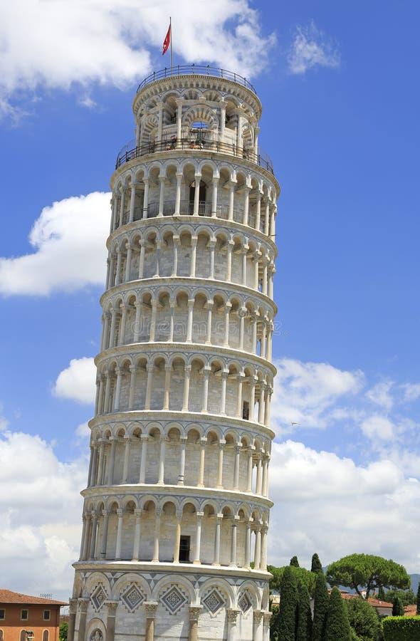 De Leunende Toren van Pisa, Toscanië royalty-vrije stock afbeelding