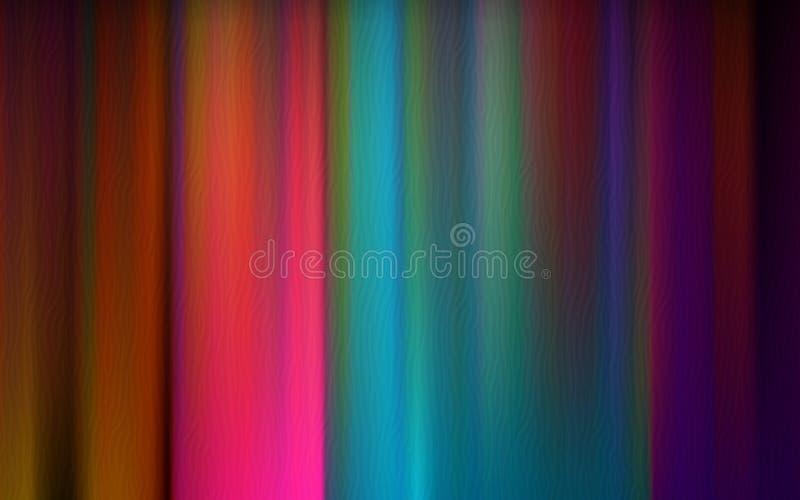 De abstracte achtergrond van het Spectrum stock foto