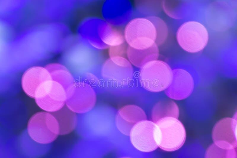 De levendige achtergrond van het kleurenonduidelijke beeld bokeh royalty-vrije stock afbeeldingen