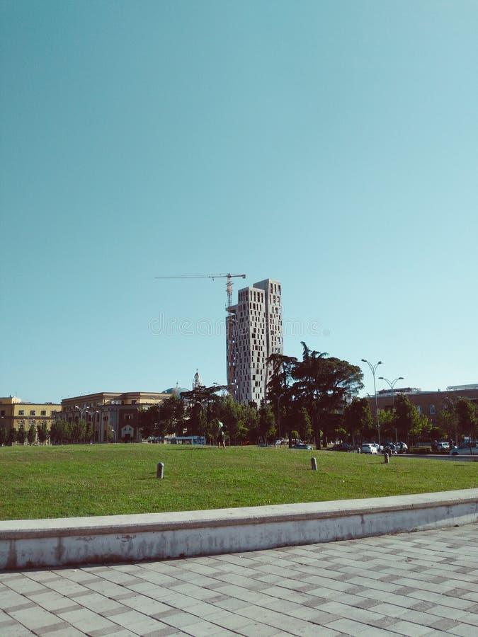 De levensstijl van Tirana stock foto
