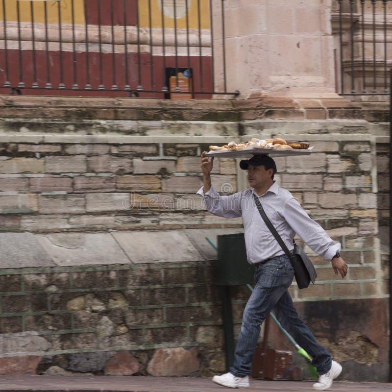 De Leveringsmens van Guanajuatomexico stock foto's