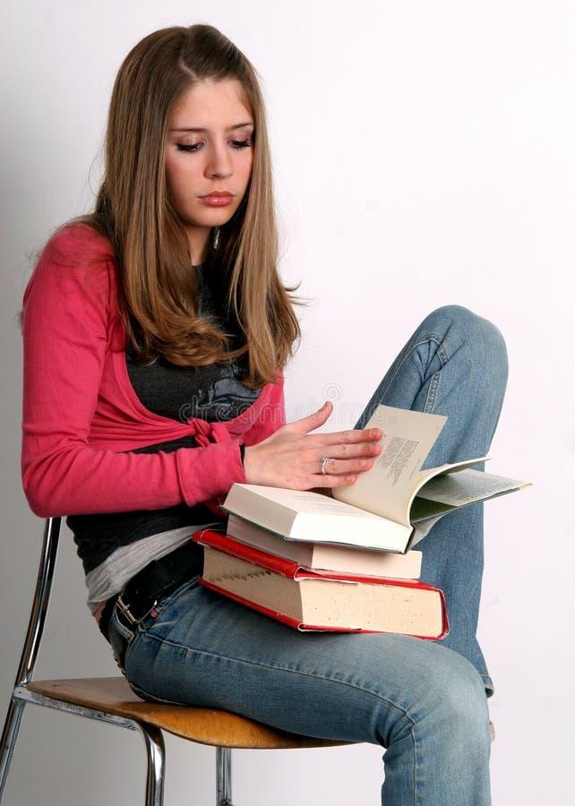 De lezing van de student stock afbeeldingen
