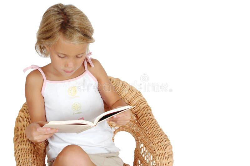 De Lezing van het kind royalty-vrije stock afbeelding