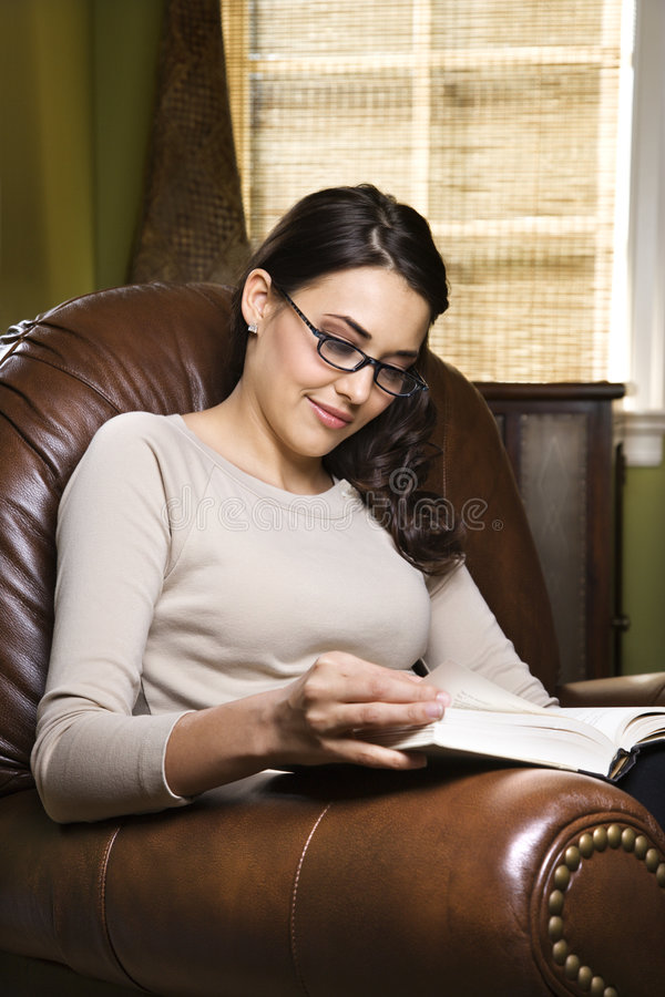 De lezingsboek van de vrouw.