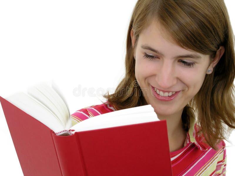 Download De Lezingsboek Van Het Meisje Stock Afbeelding - Afbeelding bestaande uit volwassen, persoon: 293421