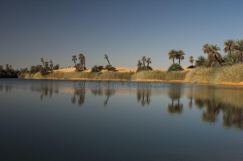 De Libische woestijn van de Sahara royalty-vrije stock afbeeldingen