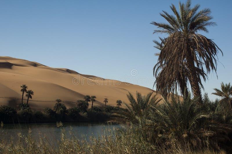 De Libische woestijn van de Sahara royalty-vrije stock foto