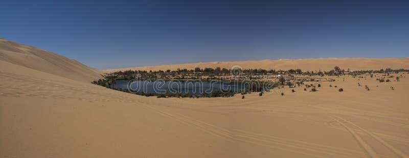De Libische woestijn van de Sahara royalty-vrije stock fotografie