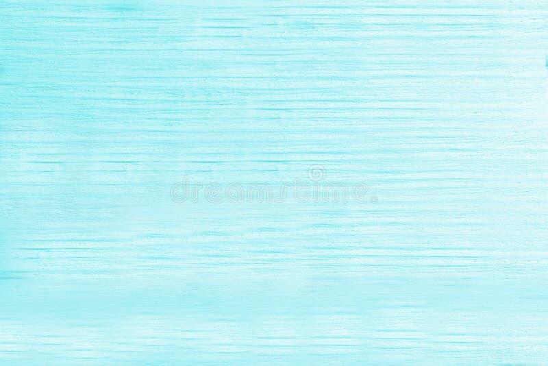 De lichtblauwe turkooise houten achtergrond van de aquamarijnkleur stock afbeelding