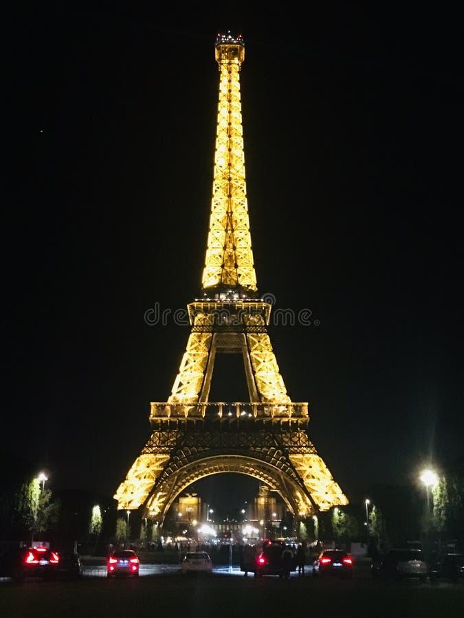 De Lichte 's nachts Dame royalty-vrije stock afbeelding