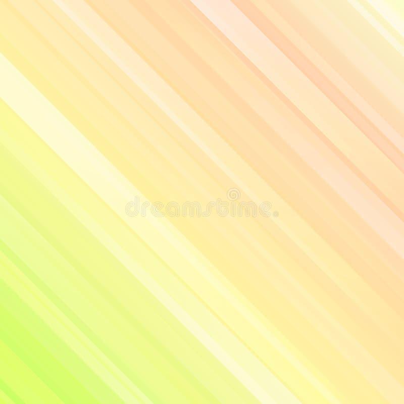 De lichte stralen, vatten geometrische kleurrijke futuristische achtergrond samen stock illustratie