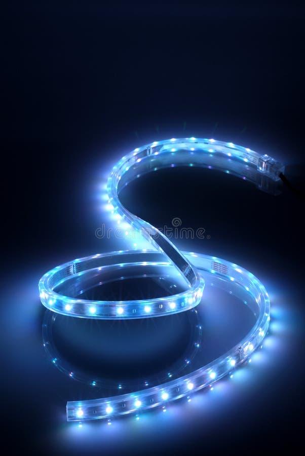 De lichte vorm van S stock afbeeldingen