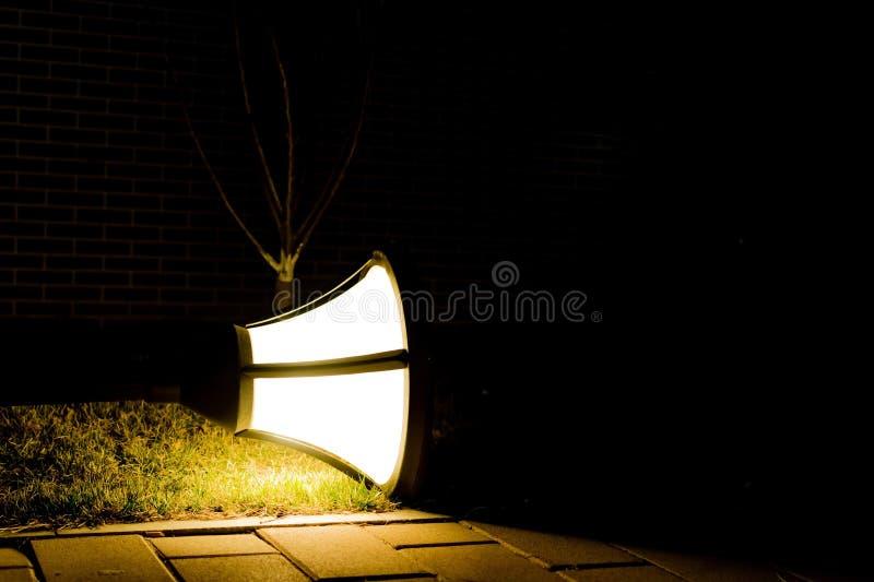De Lichten op Grond stock afbeeldingen