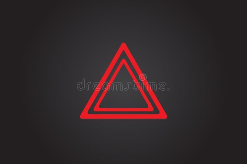 De lichten van de gevaarwaarschuwing royalty-vrije stock foto