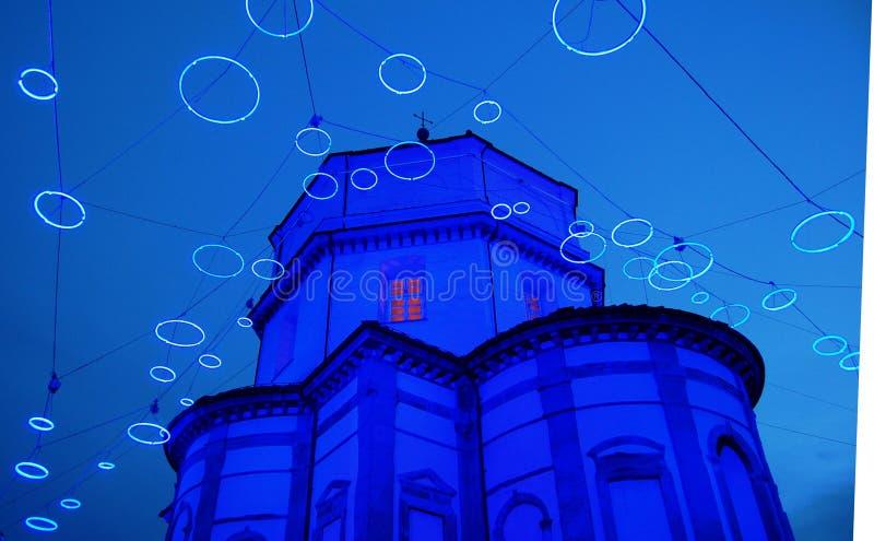 De lichten van de kunst in Turijn royalty-vrije stock fotografie