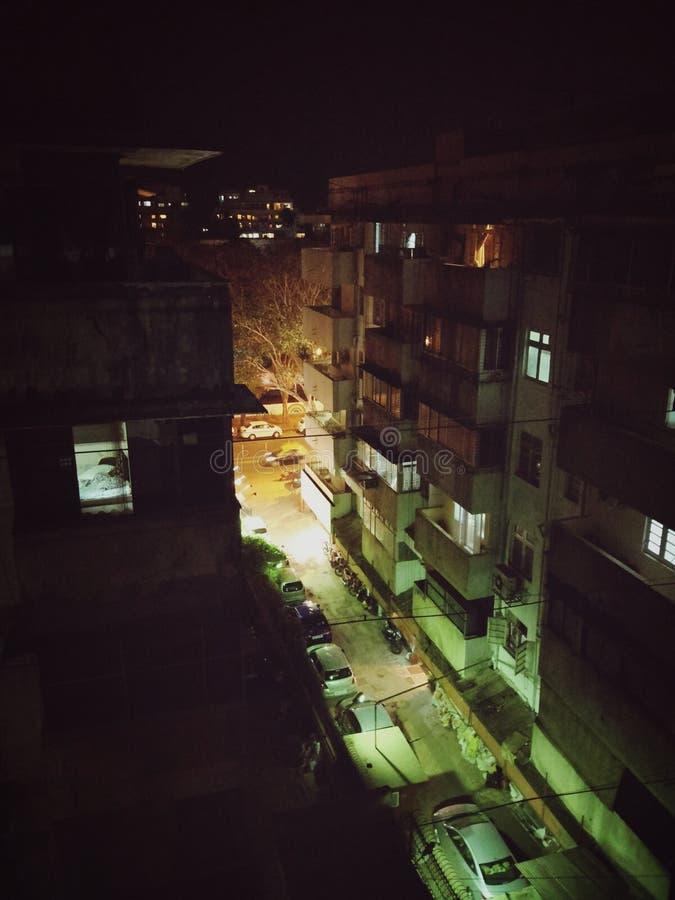 De lichten van de Mumbaistad royalty-vrije stock afbeeldingen