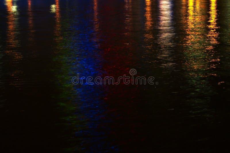 De Lichten van de rivier stock afbeelding