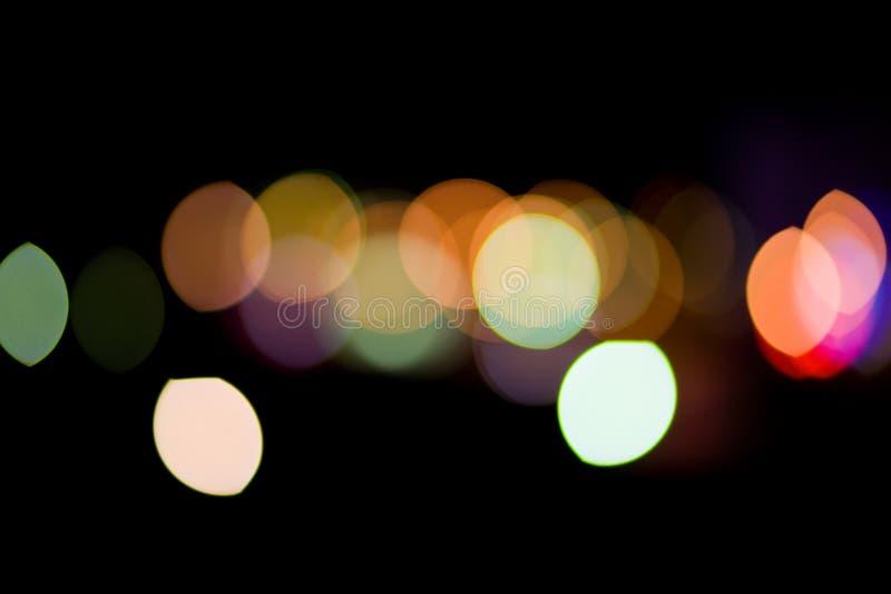 De Lichten van de stad stock afbeelding