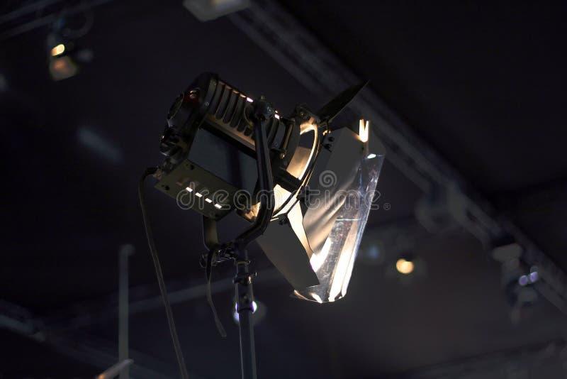 De lichten van de studio royalty-vrije stock afbeelding
