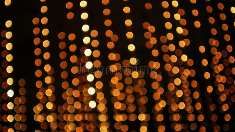 De Lichten van Defocus royalty-vrije stock afbeelding