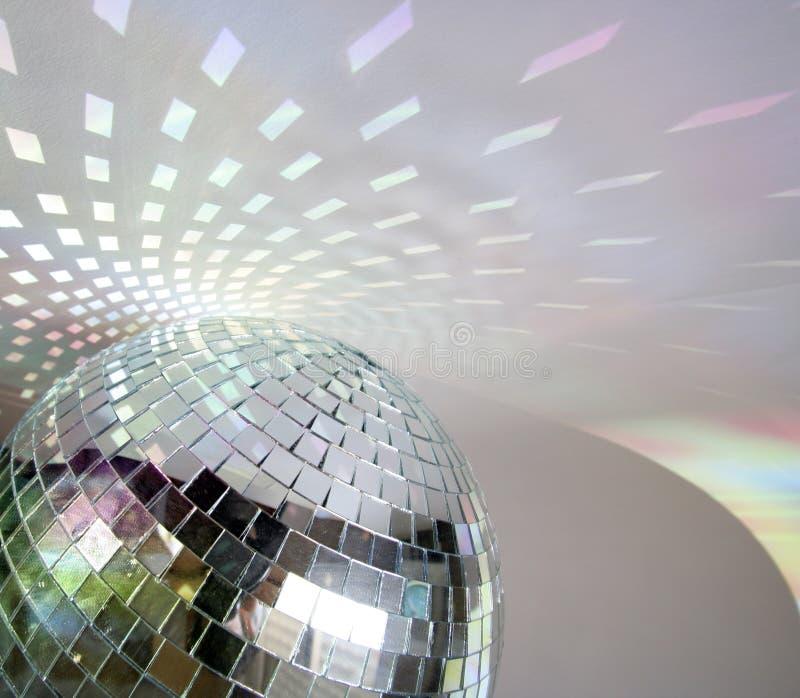 De lichten van Discoball royalty-vrije stock fotografie