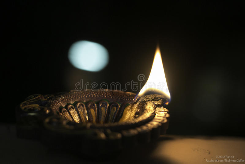 De lichten van Diwali royalty-vrije stock afbeelding