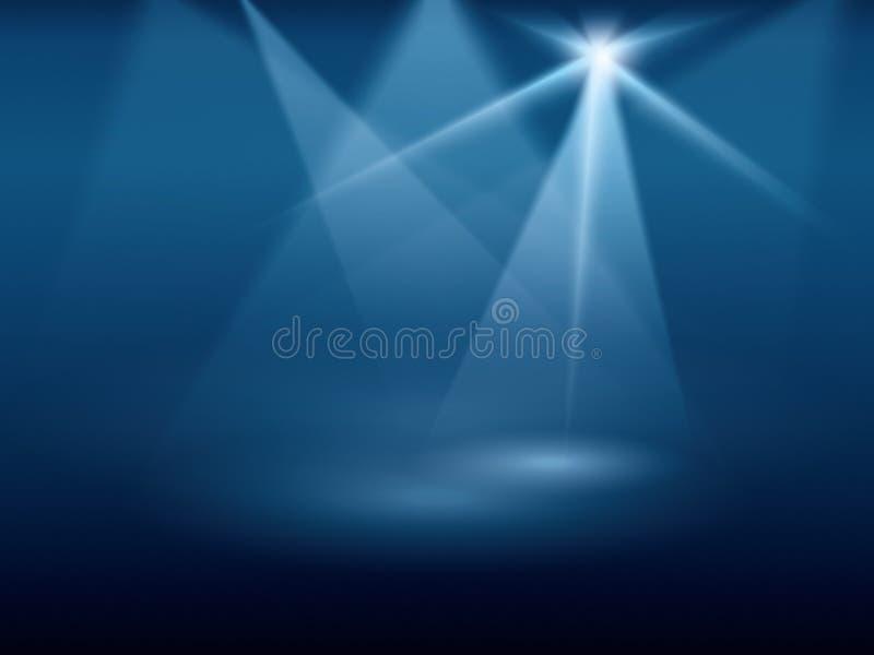 De lichten van het stadium
