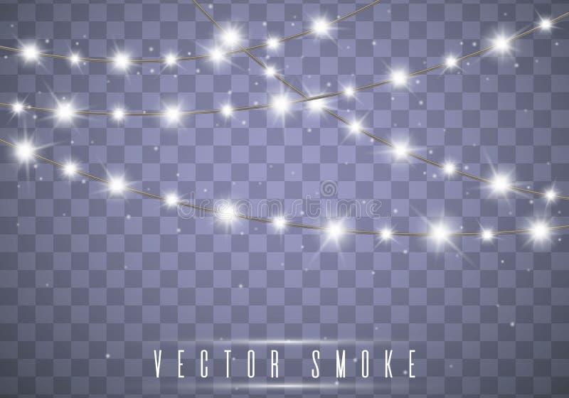 De Lichten van Kerstmis Vector stock illustratie
