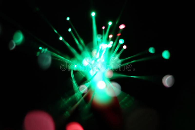 De lichten van de snelheidsmotie stock afbeeldingen