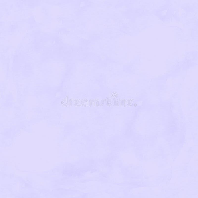 De lichtpaarse achtergrond van het waterverf abstracte naadloze patroon royalty-vrije illustratie