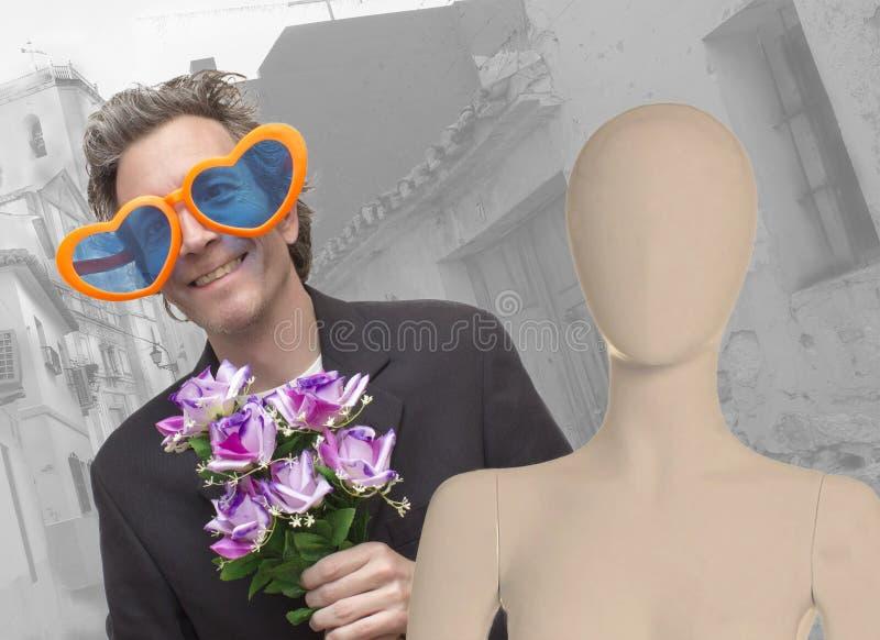 De liefde is Blind royalty-vrije stock foto's
