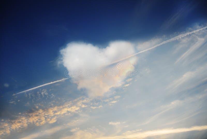 De liefde is in de lucht royalty-vrije stock foto