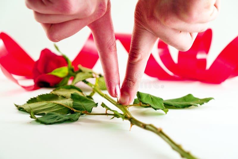 De liefde kwetst royalty-vrije stock afbeelding