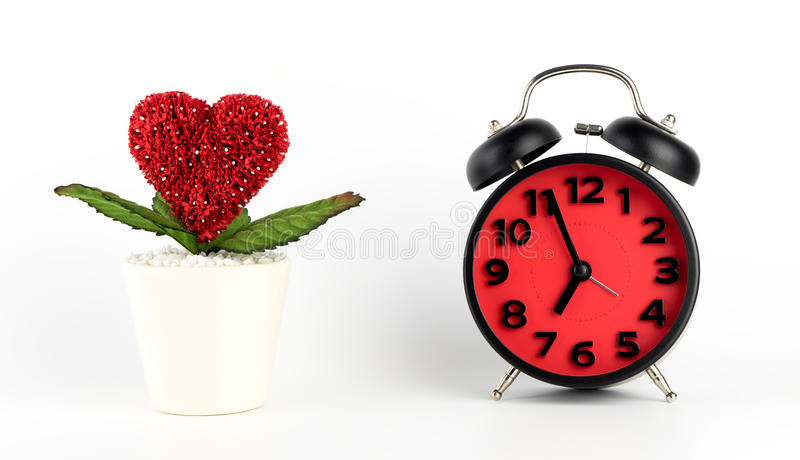 De liefde neemt tijdconcept royalty-vrije stock afbeeldingen