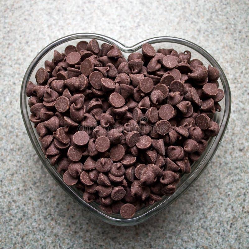 De Liefde van de chocolade royalty-vrije stock afbeeldingen