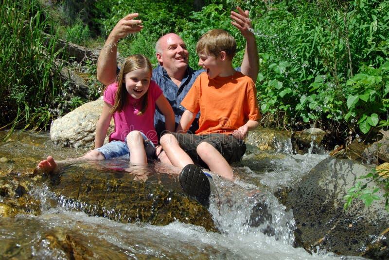 De Liefde van de familie stock foto's