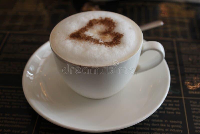De liefde van de koffie royalty-vrije stock fotografie