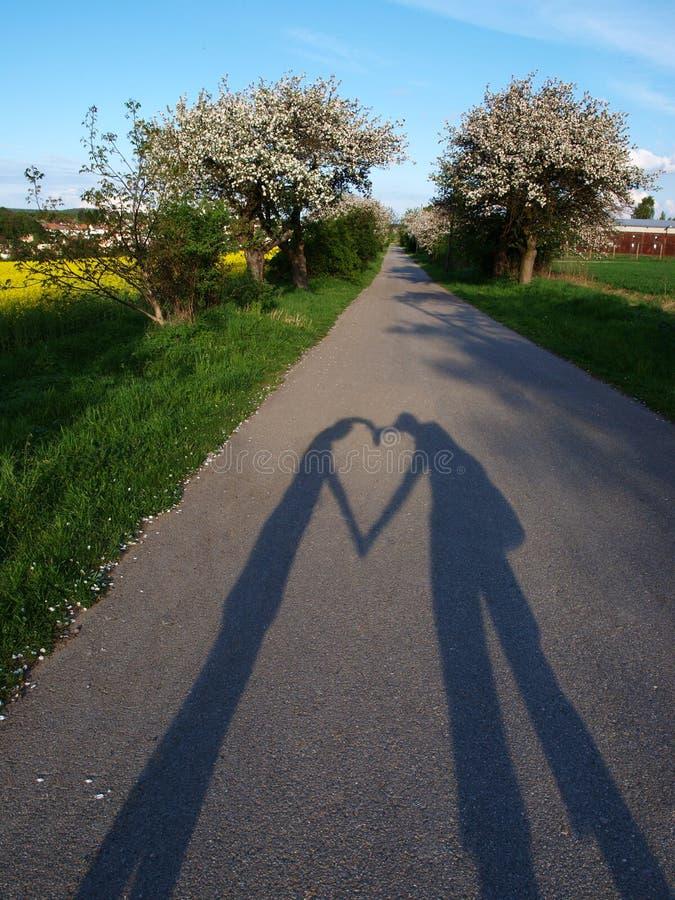 De liefde van de lente stock fotografie