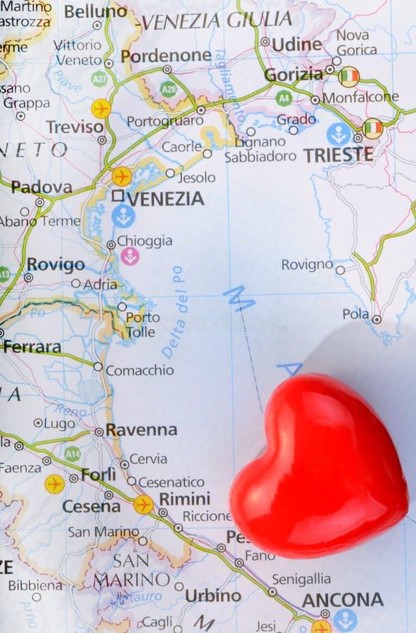 De liefde van het concept van Venetië royalty-vrije stock afbeeldingen