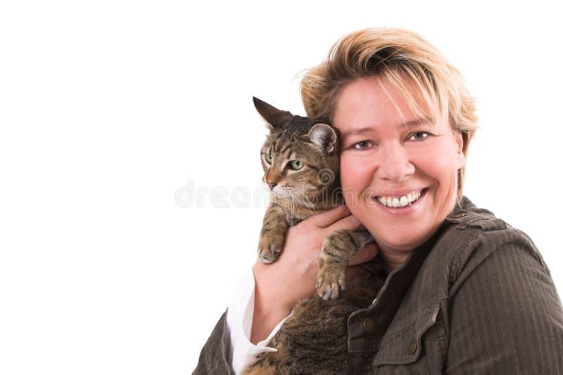 De liefde van het huisdier stock foto